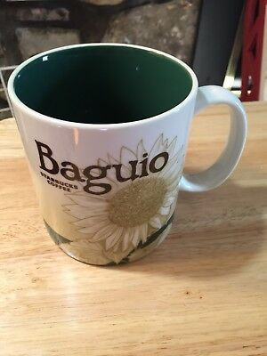 NEW Starbucks BAGUIO v1 Philippines city Icon 16 oz mug DISCONTINUED