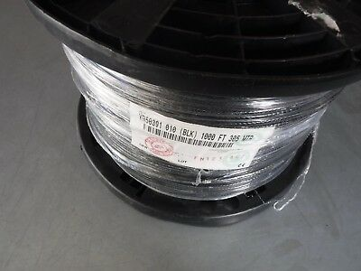 New 1000' Belden Yr50391 Quad-Shield Single Mini Head End Rg59 Coax Cable
