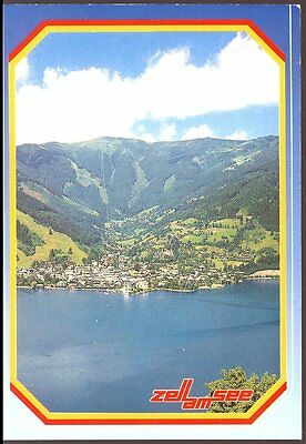 Postcard - Panoramic View -  Zell Am  See  Austria - Po