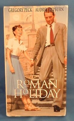 VHS! - ROMAN HOLIDAY with Gregory Peck & Audrey Hepburn