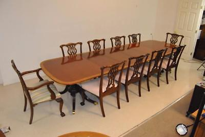 FINE BAKER Furniture Dining Room Set Collectors Edition With 10 ...
