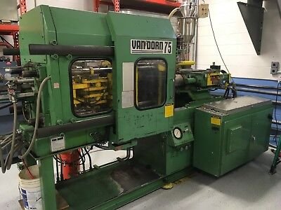 1983 Van Dorn 75 Ton Plastic Injection Molding Machine