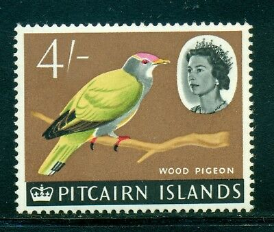 Pitcairn Islands MNH Selections: Scott #50 4Sh QEII Bird Wildlife FAUNA CV$4+