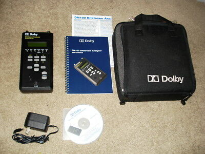 Dolby DM100 bit stream analyzer in mint condition