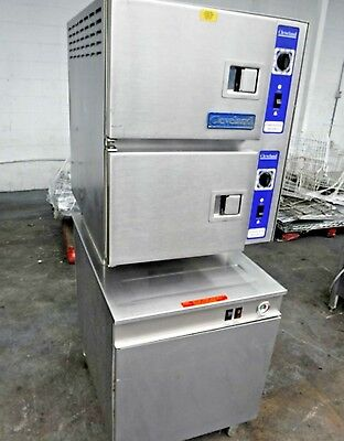 Cleveland Double Stack Gas Convection Steamer 24Cem48