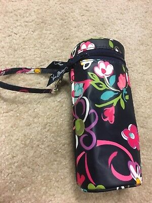 Vera Bradley Bottle Caddy, Ribbons Pattern