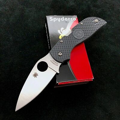 Spyderco Chaparral  C152PGY Gray FRN Handle w/ CTS XHP Steel Blade New in Box