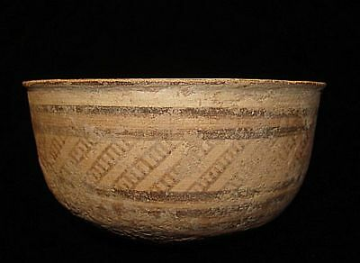 Amazing ! Ancient Painted Bowl  Early Bronze Age~3000Bc  Archaeology