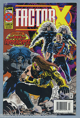 Factor-X #1 1995 Age of Apocalypse Newsstand Steve Epting Marvel Comics H