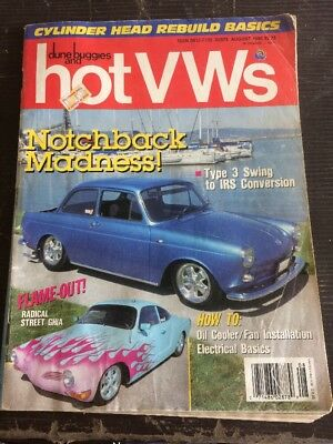 Dune Buggies And HotVWs August 1990