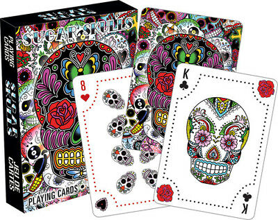 Sugar Skulls Playing Cards