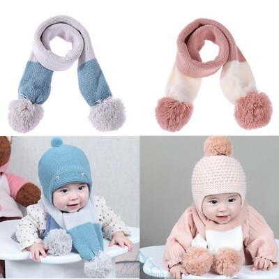 Autumn Winter Cute Baby Boy Girl Scarf Children Neck Warm Scarf for 3M-3Y