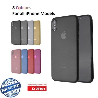 Ultra Thin Clear Soft TPU Shockproof Cover Case For iPhone X Xs 8 7 6 Plus 5