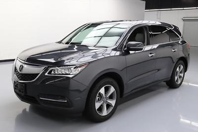 2016 Acura MDX Base Sport Utility 4-Door 2016 ACURA MDX SUNROOF REAR CAM HTD LEATHER 7-PASS 15K #015124 Texas Direct Auto
