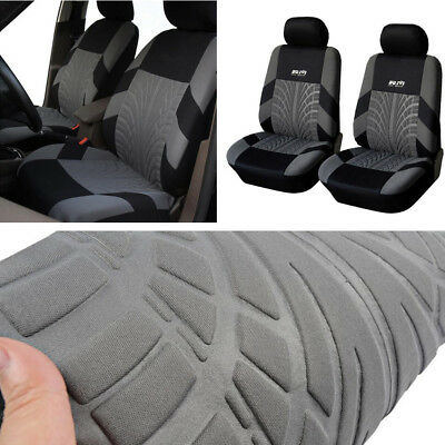 2x Auto Car Front Seat Cover Cushion Protector with Hook Eeay to Clean Washable