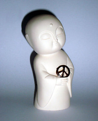 JIZO BUDDHA PEACE Figurine / Statue with Gift Box