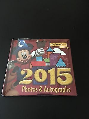 Disney Parks 2015 SORCERER MICKEY Autograph Book Photo Album * New & Sealed