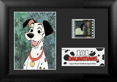 Film Cell Genuine 35mm Framed  Matted Disney 101 Dalmatians Special Edition 5688