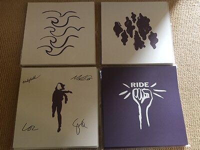 Ride - Weather Diaries - Four Prints  (One Fully Signed) Prints Only *not Vinyl*