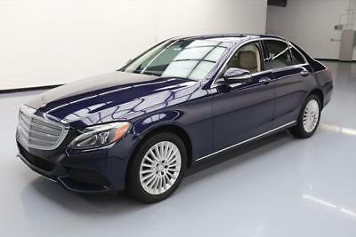2015 Mercedes-Benz C-Class 4Matic Sedan 4-Door 2015 MERCEDES-BENZ C300 4MATIC AWD LUX PREMIUM NAV 36K #020339 Texas Direct Auto