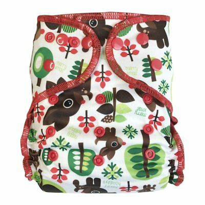 EcoAble Baby All-In-Two AI2 Hybrid Cloth Diaper w/ Pocket, One Size 10-35Lb Fawn