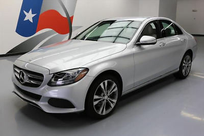 2015 Mercedes-Benz C-Class 4Matic Sedan 4-Door 2015 MERCEDES-BENZ C300 4MATIC AWD SEDAN TURBO NAV 27K #030502 Texas Direct Auto
