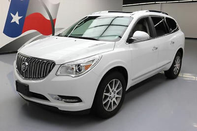2017 Buick Enclave Leather Sport Utility 4-Door 2017 BUICK ENCLAVE LEATHER DUAL SUNROOF REAR CAM 26K MI #197560 Texas Direct