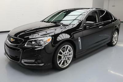 2015 Chevrolet SS Base Sedan 4-Door 2015 CHEVY SS 415HP 6-SPEED CLIMATE LEATHER HUD NAV 20K #116583 Texas Direct