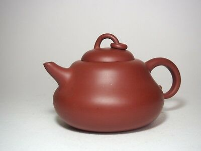 A Nice Yixing Clay Red Ware Teapot