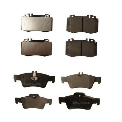 CLS320 TD 2005-10 MINTEX FRONT AND REAR BRAKE PADS FOR MERCEDES-BENZ CLS C219