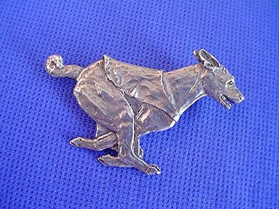 """Basenji Pin Lure Coursing """"SPEED"""" #40Dc Pewter Dog Jewelry by Cindy A. Conter"""