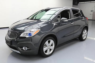 2016 Buick Encore Leather Sport Utility 4-Door 2016 BUICK ENCORE HTD LEATHER NAV REAR CAM ALLOYS 5K MI #748122 Texas Direct