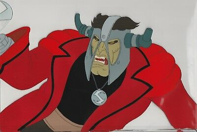 BARBARIAN LEADER in battle Original Production Cel from HEAVY METAL (1981)