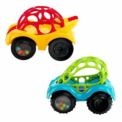OBall 1 Rattle Roll Car Infant Toddler Toy Gifts Toys for Baby Boy Girl Teether