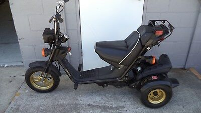 HONDA Gyro, 50cc electric start, tilting 3 wheeler, SHED CLEAR OUT, NO RESERVE