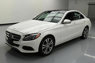 2015 Mercedes-Benz C-Class 4Matic Sedan 4-Door 2015 MERCEDES-BENZ C300 SPORT AWD PREM PANO NAV 34K MI #023731 Texas Direct Auto