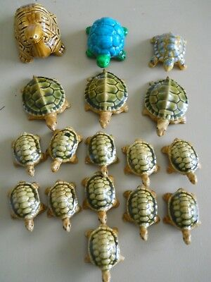 16 Vintage Ceramic Turtles Japan 1 Bone China Turtle