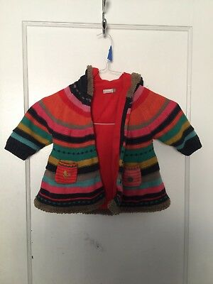 Catimini toddlers jacket multicolored 18 month Nice condition!