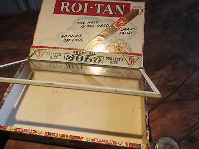 Tobacco Store Display Glass BOLD Sumatra Cigar Box Lid Drugstore Restaurant