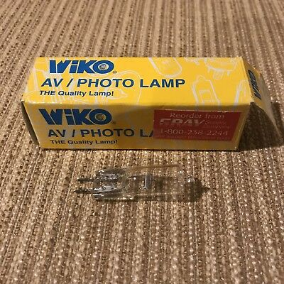 AV Photo Lamp Bulb Light 24V 150W Vintage In Box 50550 .4 Wiko