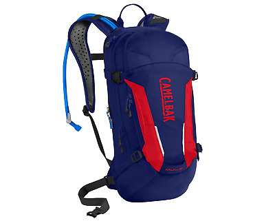 2018 Camelbak 3,0 l maultier Trinkrucksack In Blau/Racing Red (Rot)