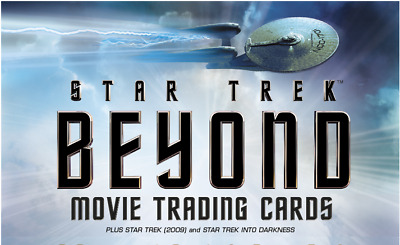 Star Trek Beyond Movie trading card DELUXE Mini Master set W/BINDER