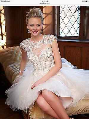 Sweet Tulle Jewel Neckline  Ball Gown  Dress With Lace Appliques