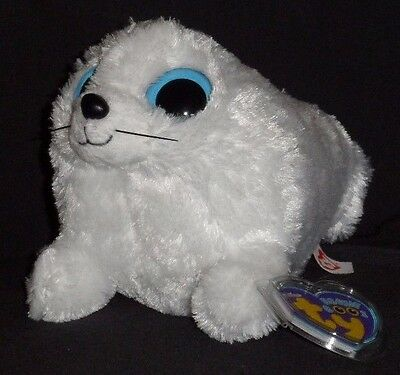 """TY BEANIE BOOS - ICEBERG the 6"""" WHITE SEAL – MINT with MINT TAG"""