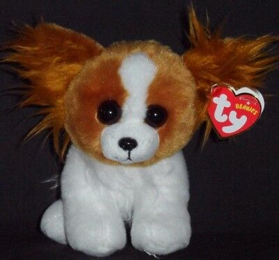 TY BARKS the DOG BEANIE BABY - MINT with MINT TAG