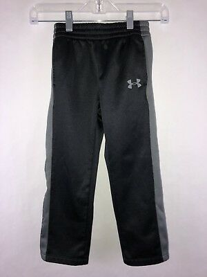 Under Armour Boys Athletic Pants Size 5 black &gray