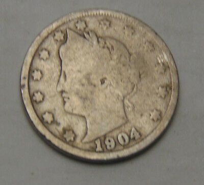 1904 Liberty V Nickel (FREE SHIPPING OFFER) C