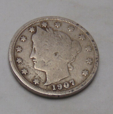 1907 Liberty V Nickel (FREE SHIPPING OFFER) B