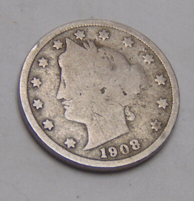1908 Liberty V Nickel (FREE SHIPPING OFFER) E