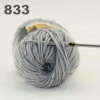 New 1Ball x 50g Chunky DIY Needle crafts Hand-Woven Knitting Scores Wool Yarn 22